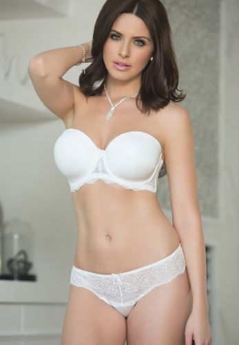 Smooth Cup Strapless Contour Bra